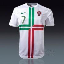 正品 球衣 葡萄牙 2012-13欧洲杯客场 足球服 队服 7号C罗纳尔多 价格:268.00
