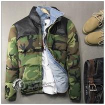 6955  东西很好!英国潮牌个性军绿迷彩男士休闲棉衣棉服外套 价格:228.00