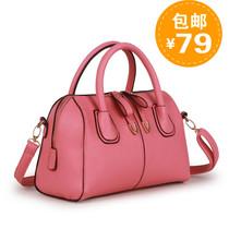 包邮2013夏季新款潮糖果色波士顿枕头包女包手提包单肩斜跨女式包 价格:79.00