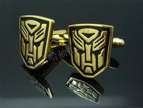 亏本 限时特价 男士衬衫袖扣 变形金刚 金色 时尚 霸气 hgh-005 价格:6.00