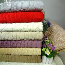诗宁欧式鹅卵石短毛绒沙发垫防滑真皮沙发垫坐垫布艺沙发罩沙发巾 价格:18.70