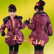 意大利啄木鸟儿童羽绒服瘦身韩版大摆韩服时尚中童版术格女孩冬装 价格:118.00