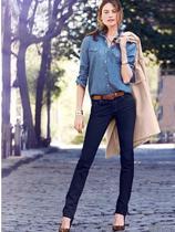 美国代购 新款正品 维多利亚的秘密 低腰牛仔铅笔裤 3009450 价格:836.00