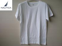 4件包邮!日单原单男白半袖衫NUATICA 诺帝卡 纯棉老头衫运动打底 价格:15.01
