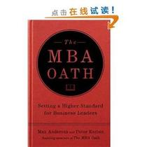 [E]The MBA Oath: The Grassroots Movement That is Bringing In 价格:156.70