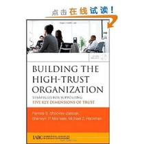 [E]Building the High-Trust Organization: Strategies for Supp 价格:306.60