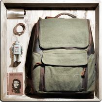 牛xx 包包2013新款复古学院风韩版双肩女包帆布包书包电脑包男包 价格:246.00