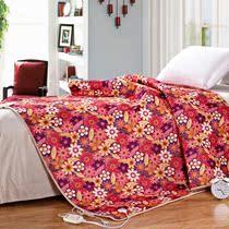 电热毯 双人双控 上海如兰正品单面印花电热毯 调温型电热 价格:59.00
