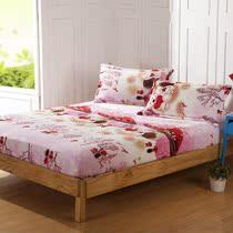 伊丝贝尼法莱绒加厚床笠升级版珊瑚绒保暖席梦思保护罩新品促销 价格:74.80