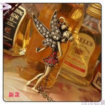 尼斯时尚ETER泛童话仿钻石龙仙子复古项链韩版饰品 饰饰如意AN107 价格:12.42