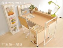 特价包邮简约组合书桌 学生台式电脑桌子办公桌 宜家时尚写字台 价格:10.00