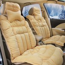 汽车坐垫秋冬新款通用羽绒坐垫帝豪福克斯新帕萨特菲翔雪弗兰逸动 价格:398.00