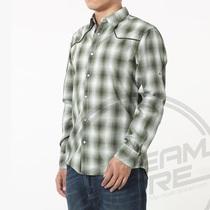 全新专柜正品Esprit秋装格子休闲 纯棉长袖潮男款衬衫 专卖425元 价格:159.00