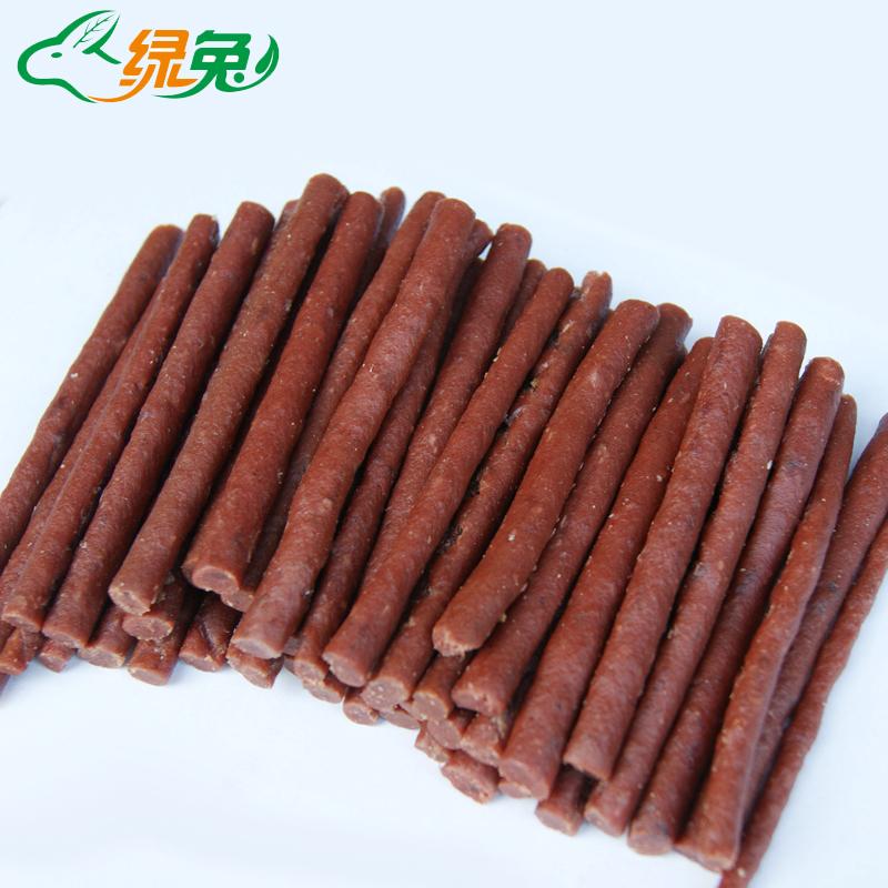 妞派特宠物狗狗零食牛肉棒牛肉条500G 宠物食品泰迪训犬零食 特价 价格:6.90