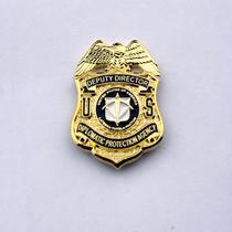 美国外交司法部 外交部警徽 胸徽胸章 臂章 帽徽勋章 金属徽章 标 价格:18.00