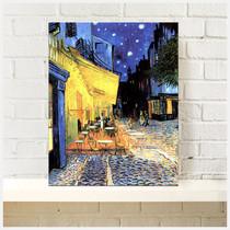 露天咖啡馆梵高帆布无框装饰挂画客厅壁画卧室餐厅玄关沙发墙画 价格:38.00