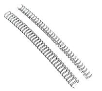 元浩 12.7mm 1/2 3:1 34孔 铁圈 双线圈 台历圈 装订铁圈 100支装 价格:50.00