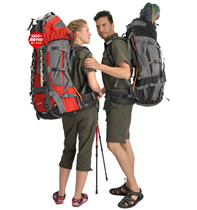 正品 The North Face 北脸 男女户外重型登山/攀岩/滑雪双肩包80L 价格:441.00