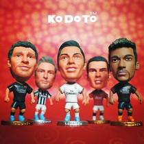 13-14赛季最新款口袋堂 C罗梅西内马尔卡卡球星人偶公仔玩具模型 价格:6.50