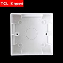 TCL86型明盒开关底盒插座底盒开关插座底盒正品特价 价格:2.50