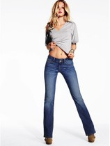 美国代购 维多利亚的秘密VS 魅力女士性感超修身 直筒牛仔裤 价格:668.00