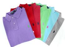 珠地棉 经典款 小马标Polo Ralph Lauren 美国代购短袖T恤Polo衫 价格:365.00