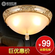 旺年灯饰 欧式吸顶灯卧室灯餐厅灯过道灯阳台灯门厅灯具灯饰 价格:99.00