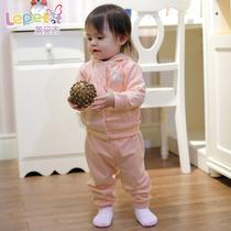 莱贝吉 宝宝童装婴幼儿童装男女童时尚休闲欧美儿童套装打折清仓 价格:99.00
