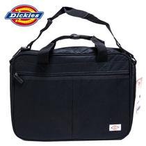Dickies 电脑包 单肩 男商务手提包 简约帆布男女斜挎包1121505 价格:99.50