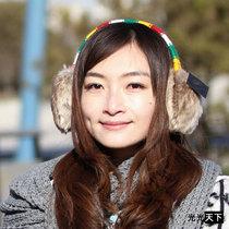 韩版棕毛个性女士冬天彩色耳包外单保暖耳套时尚可爱潮护耳特价 价格:32.00