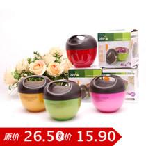 飞达三和创意时尚糖罐密封罐手提厨房储物罐储藏罐保鲜罐干果罐 价格:15.90