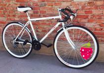 27赛车  公路车 变速  弯把  场地车  自行车 价格:360.00