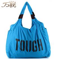 万联尼龙包 女包 大包2013新款韩版布包超大包包女单肩包妈咪包潮 价格:59.84