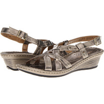 美国正品代购暇步士Hush Puppies Cyprus Sling女鞋凉鞋坡跟新款 价格:739.58
