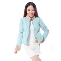 欧时力2013秋冬装新款短款女棉衣棉服 糖果色韩版小棉袄外套 包邮 价格:199.00