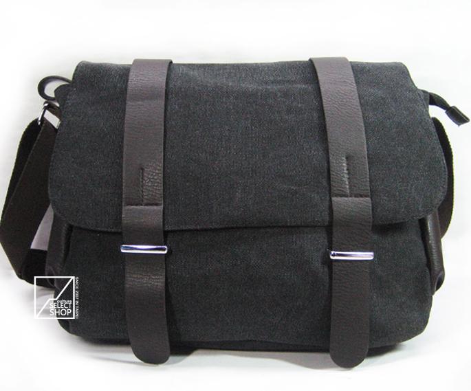 加厚帆布包最新流行款韩版男包潮包斜挎包男士单肩包挎包学生书包 价格:48.00