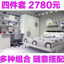 儿童家具套房男孩 儿童套房青少年卧室套装 儿童房家具组合儿童床 价格:2780.00