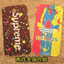 三星N7100卡通贴膜 喷画三叶草note2彩膜 时尚adidas炫彩贴纸7102 价格:16.80