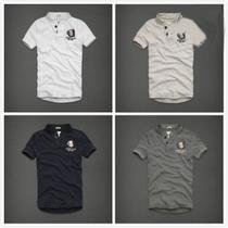 美国A&F专柜正品代购新款夏日男士经典休闲亨利式短袖T恤特价 价格:268.00