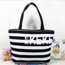 全民疯抢韩版女士包包简约单肩手提包休闲包帆布包外贸特价包 价格:16.00