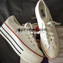 韩国进口女鞋春MAX.STAR低帮5厘米厚底鞋 单鞋 帆布鞋 女现货 价格:168.00