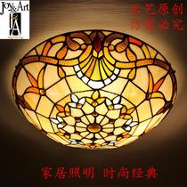 蒂凡尼吸顶灯巴洛克欧式卧室客厅餐厅书房酒吧咖啡厅楼梯阳台灯 价格:399.00