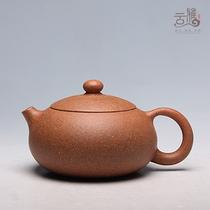 云雅传砂宜兴紫砂壶手工真品原矿红星老段泥扁西施大促销茶壶茶具 价格:220.00