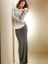 现货 美国代购维多利亚的秘密 性感修身皱褶垂坠感长裙286469 价格:450.00