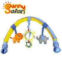 包邮原装正版英国Sunny Safari Buggy Arch 婴儿车挂音乐车夹床架 价格:42.00