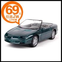 合金汽车模型1:24 威利 95款克尔维特 超篷跑车 清仓 69元任选2 价格:39.00