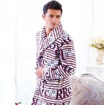 特价 包邮多拉美正品 2012秋冬季男珊瑚绒睡袍 浴袍睡衣 CD43403 价格:125.00