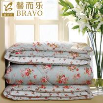 富安娜家纺馨而乐正品被子花漾全棉被芯春秋被纤维被冬被特价包邮 价格:258.00