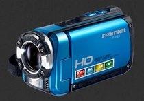 拍美乐数码摄像机HD-F01 1200万像素 3寸屏 4倍数码 防水DV 价格:1499.00