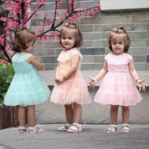 奇乐兔 童装女童夏装公主裙宝宝蛋糕裙婴儿连衣裙儿童节送礼H1231 价格:58.30